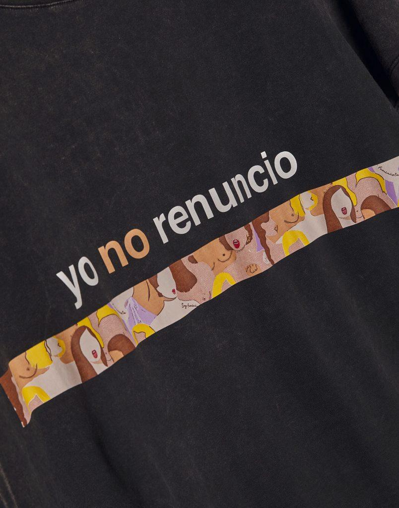 Camiseta 'Yo no renuncio'