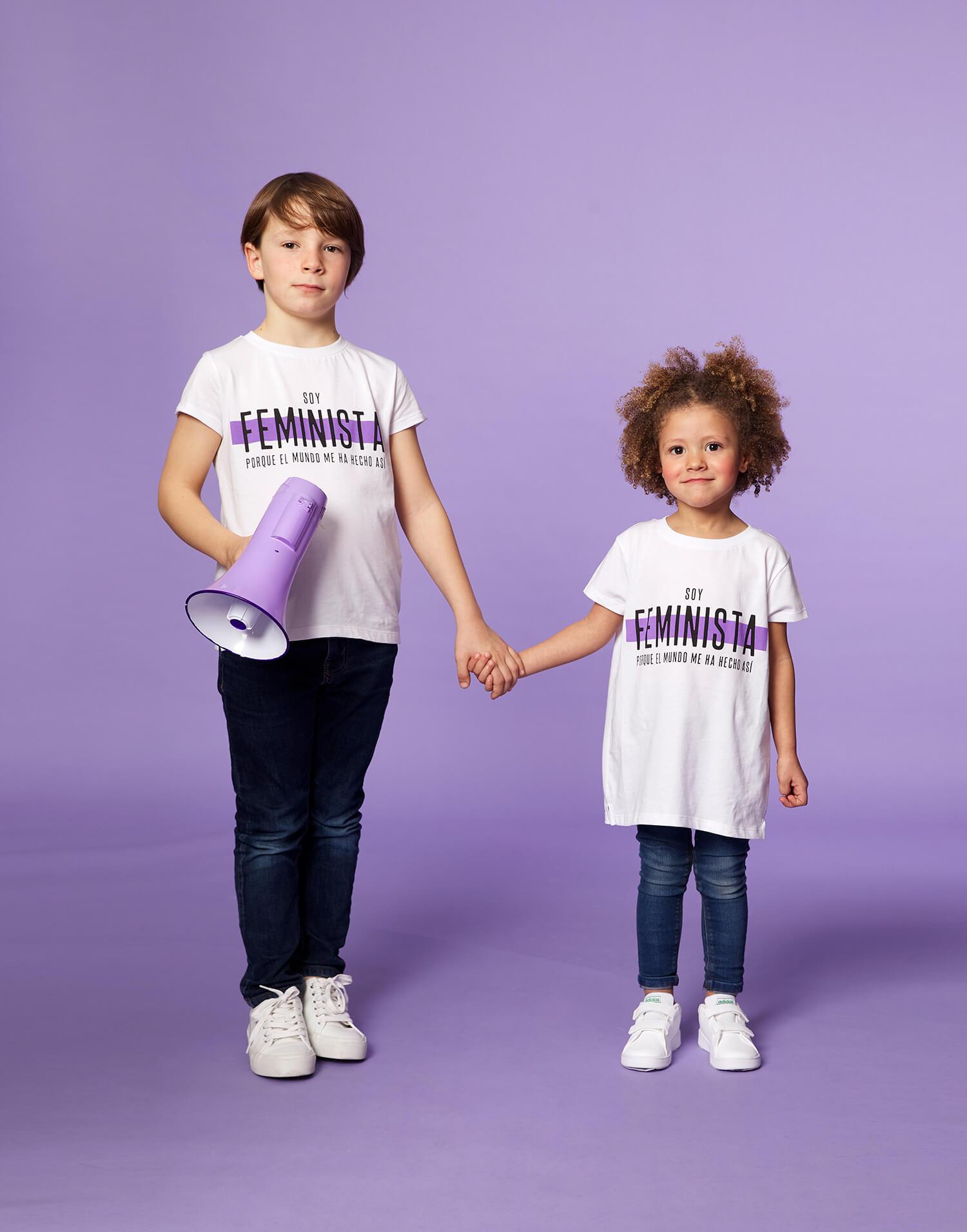 Camiseta infantil 'Soy Feminista' 2020