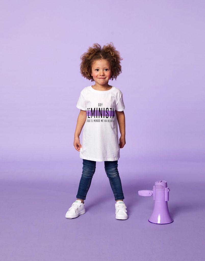 Camiseta infantil 'Soy Feminista'