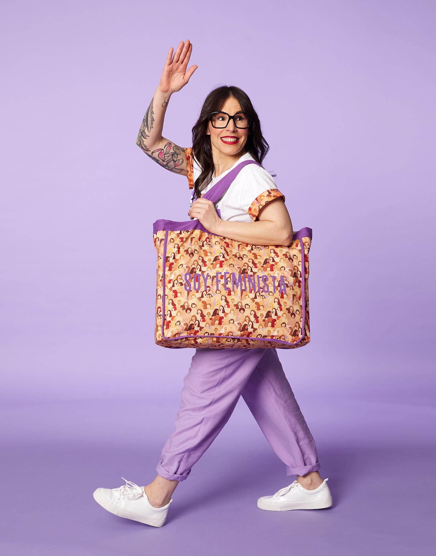 Tote bag Morado 'Soy Feminista' 2020