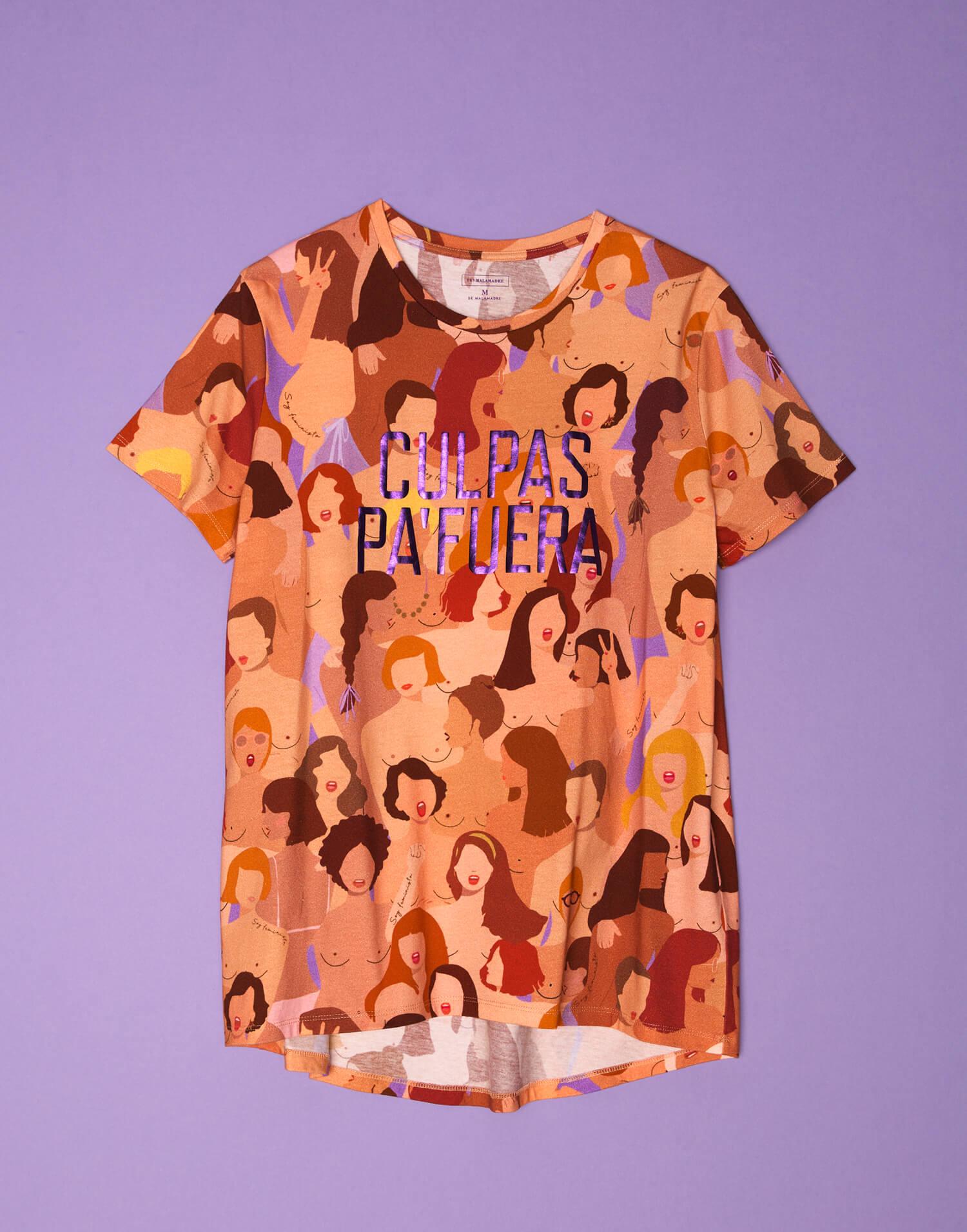 Camiseta 'Culpas pa'fuera'