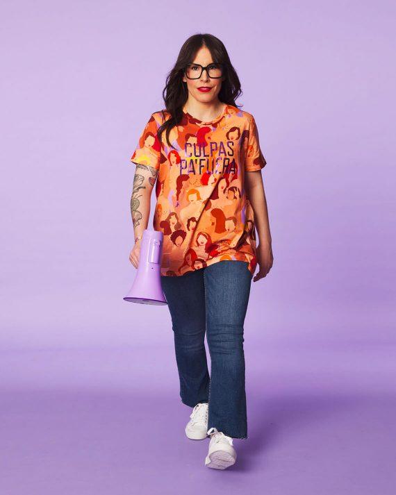 camiseta feminista culpas pa fuera malasmadres