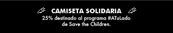 Camiseta solidaria 25%