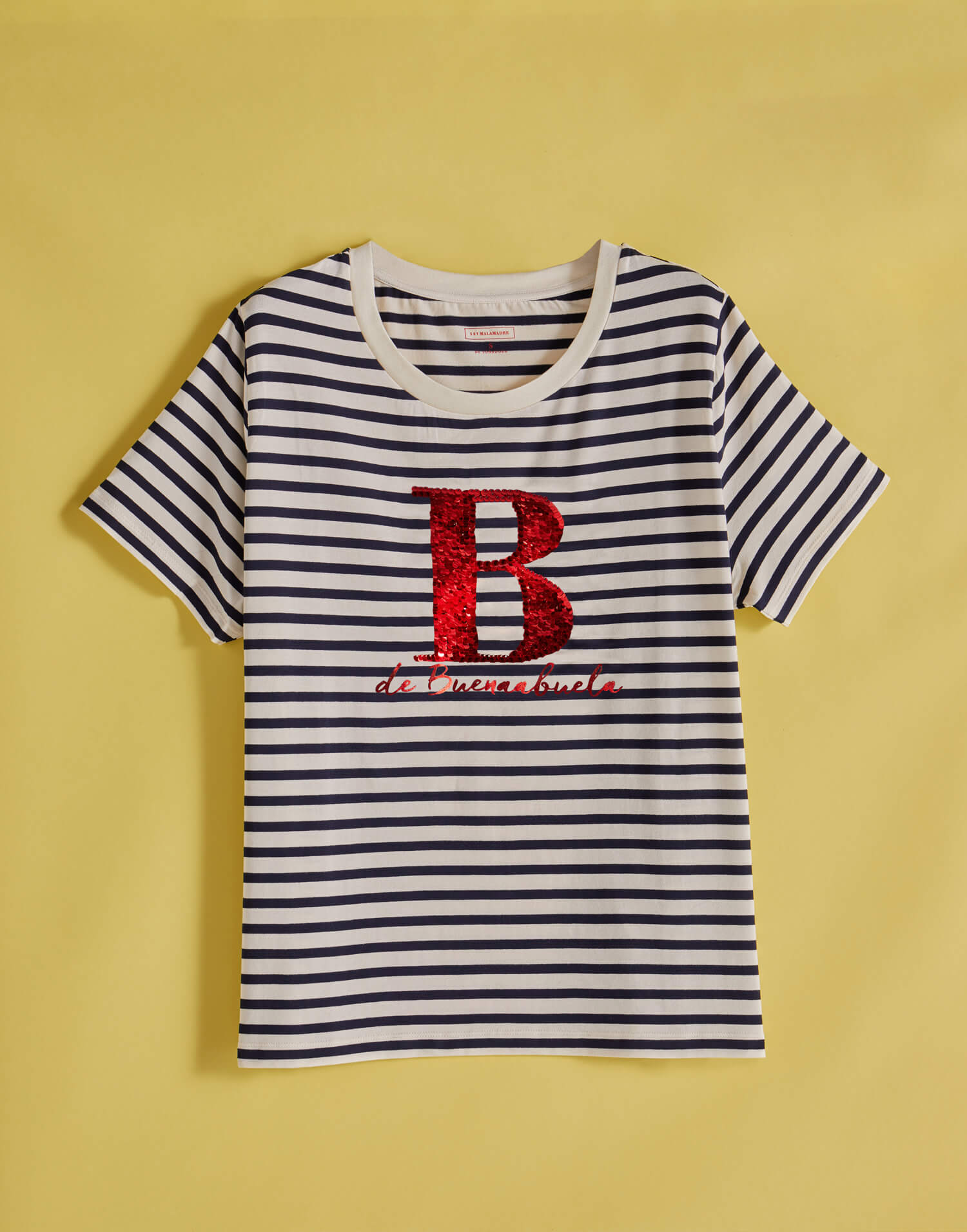 Camiseta mujer - B de Buenaabuela