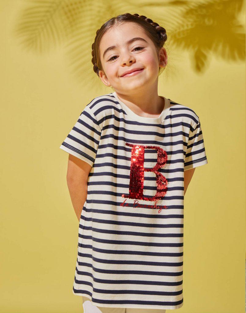 Camiseta infantil - B de Buenahija