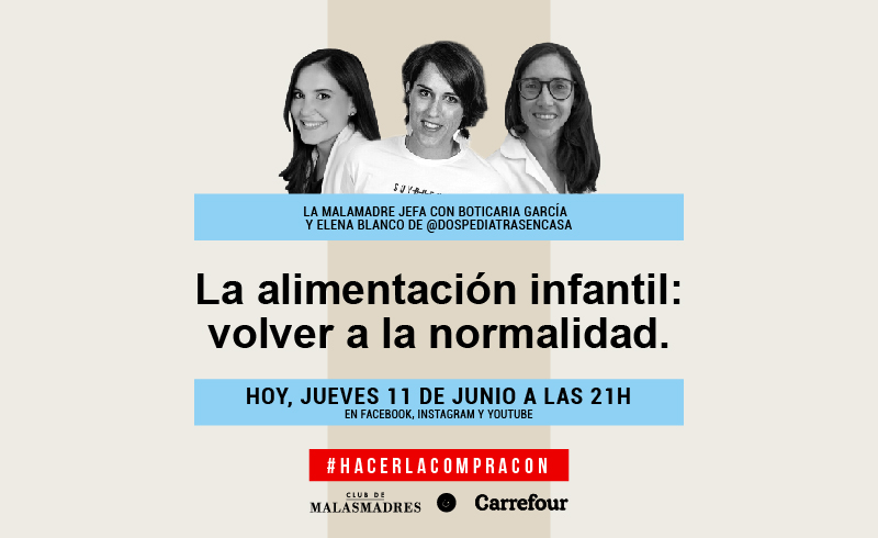 La alimentación infantil, en Directo #HacerLaCompraCon