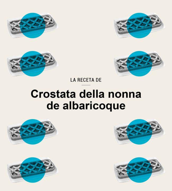 receta italiana crostata della nonna de albaricoque