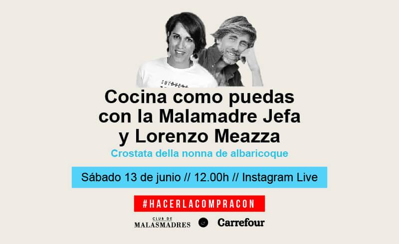 Cocinando con la Malamadre Jefa y Lorenzo Meazza