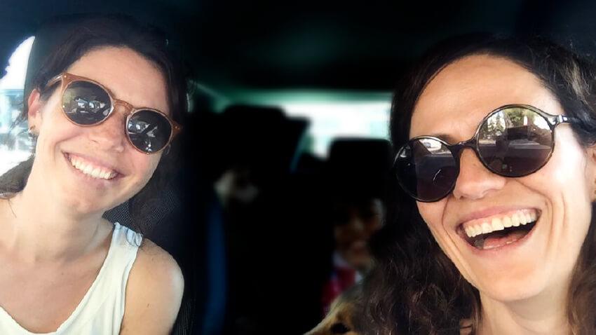 Foto de las fundadoras de El Club de las Vi(u)das