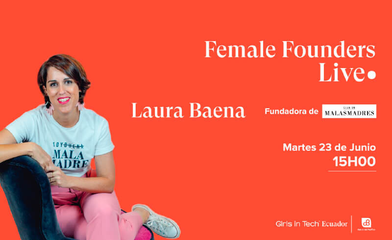 Laura Baena participará en Girls in Tech Ecuador