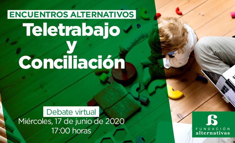 Teletrabajo y conciliación, a debate en Fundación Altenativas