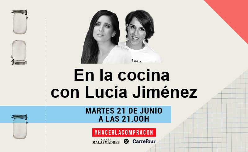 En la cocina con Lucía Jiménez