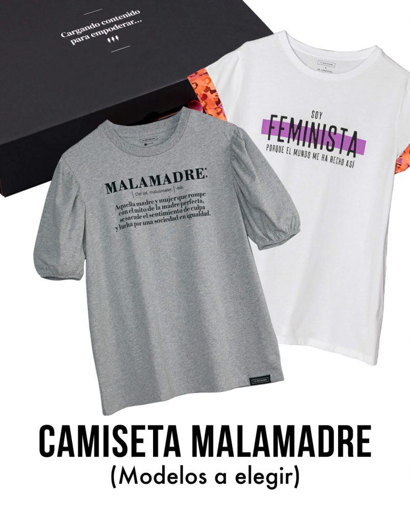 Kit camiseta Malamadre