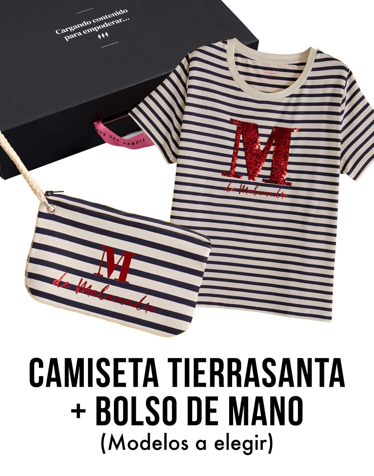 KIt Camiseta Tierrasanta+bolso de mano