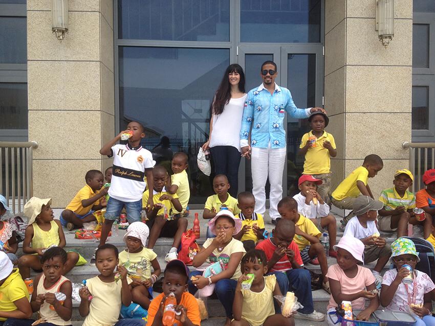 Foto de la escuela Guinea Ecuatorial