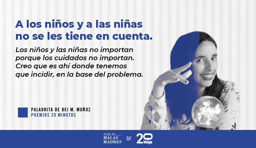 Palabrita de Bei M. Muñóz