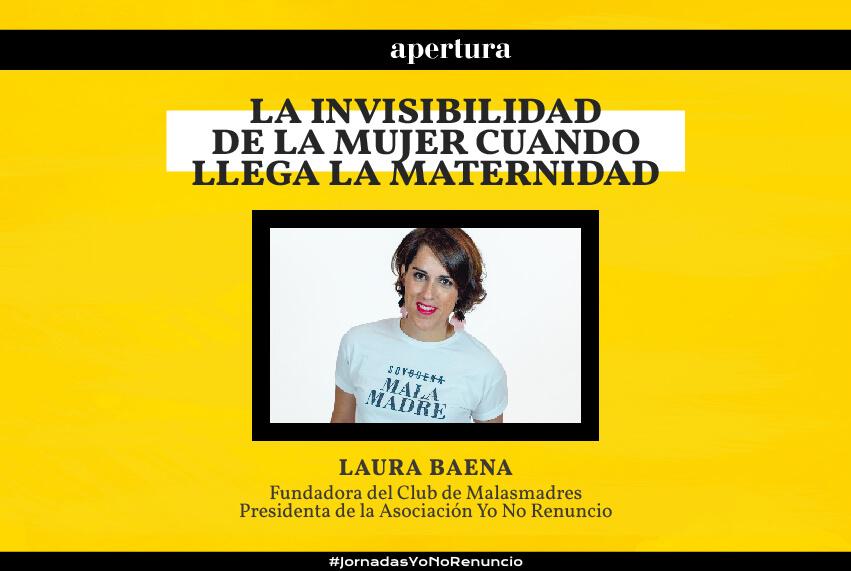 Apertura de las jornadas por Laura Baena