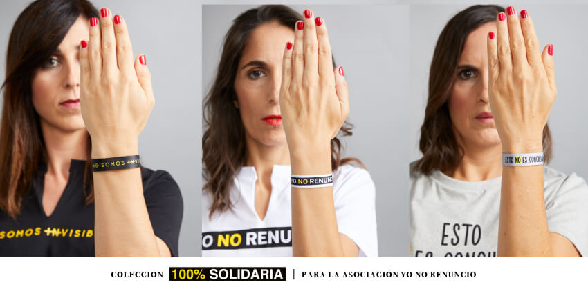 pulseras solidarias por la conciliación