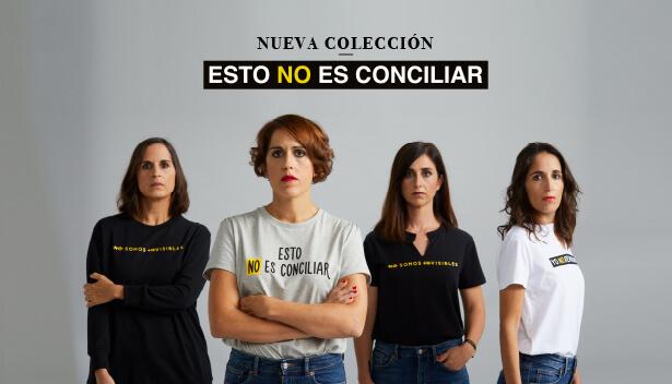 Esto No Es Conciliar, la primera colección solidaria por la conciliación