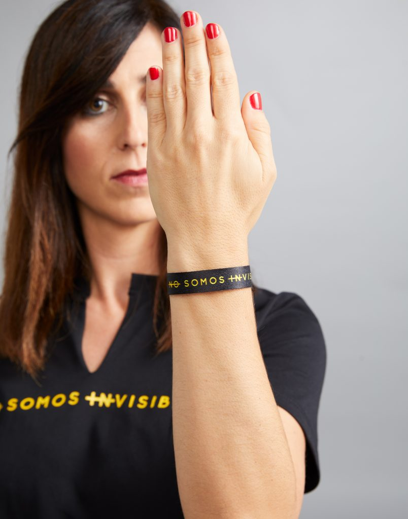 Pulsera No Somos Invisibles