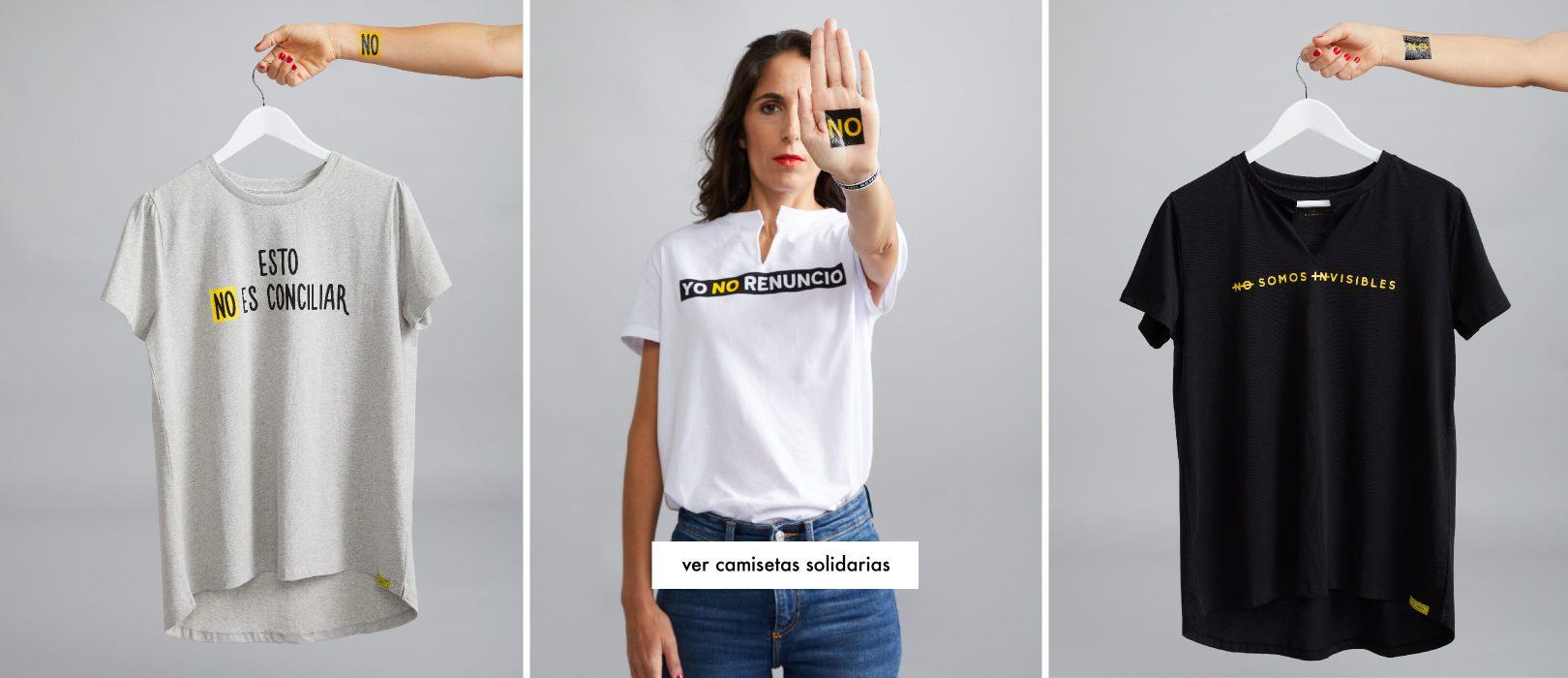 Las camisetas de la colección