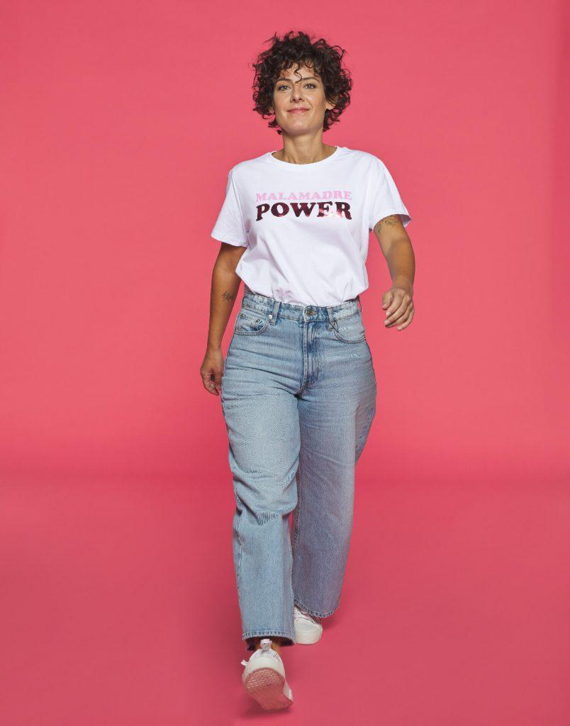 Encarni con la cami soy Malamadre Power
