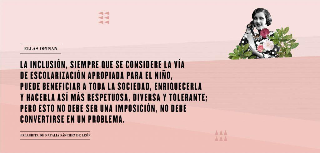 Palabritas de Natalia Sánchez.