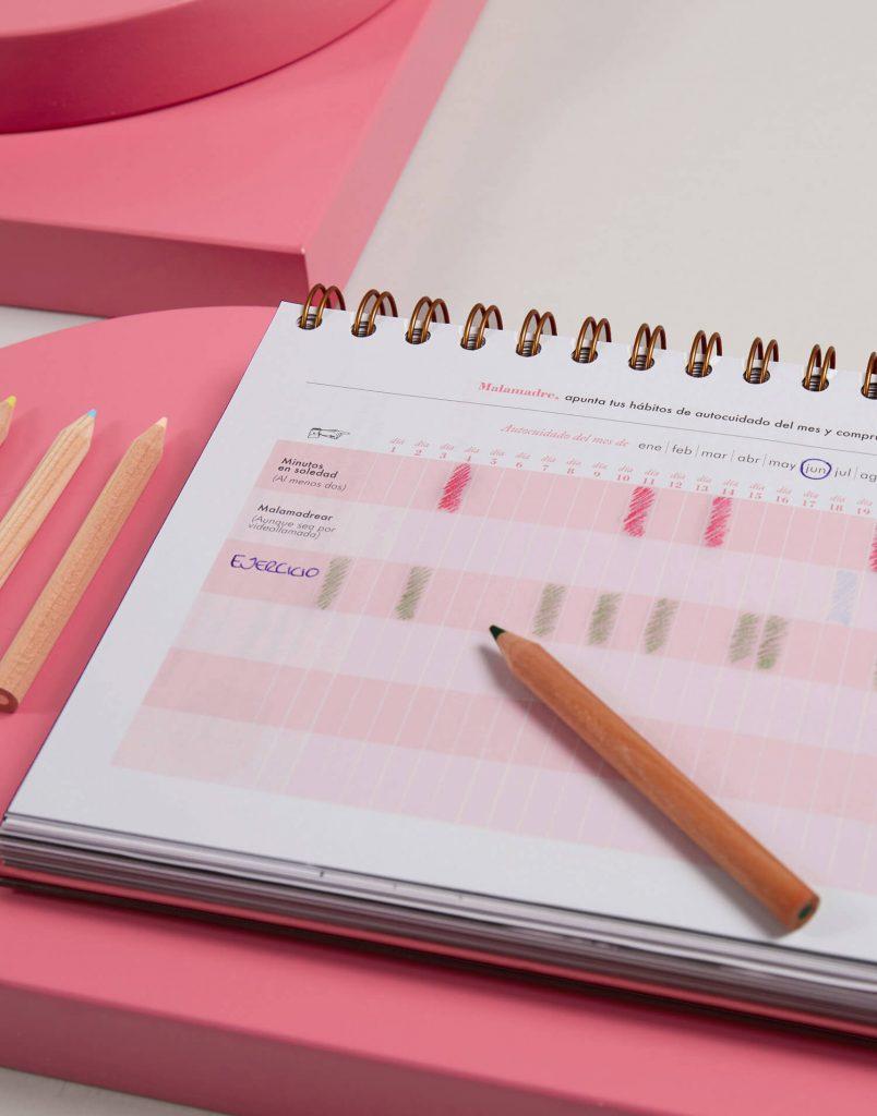 calendario de la agenda