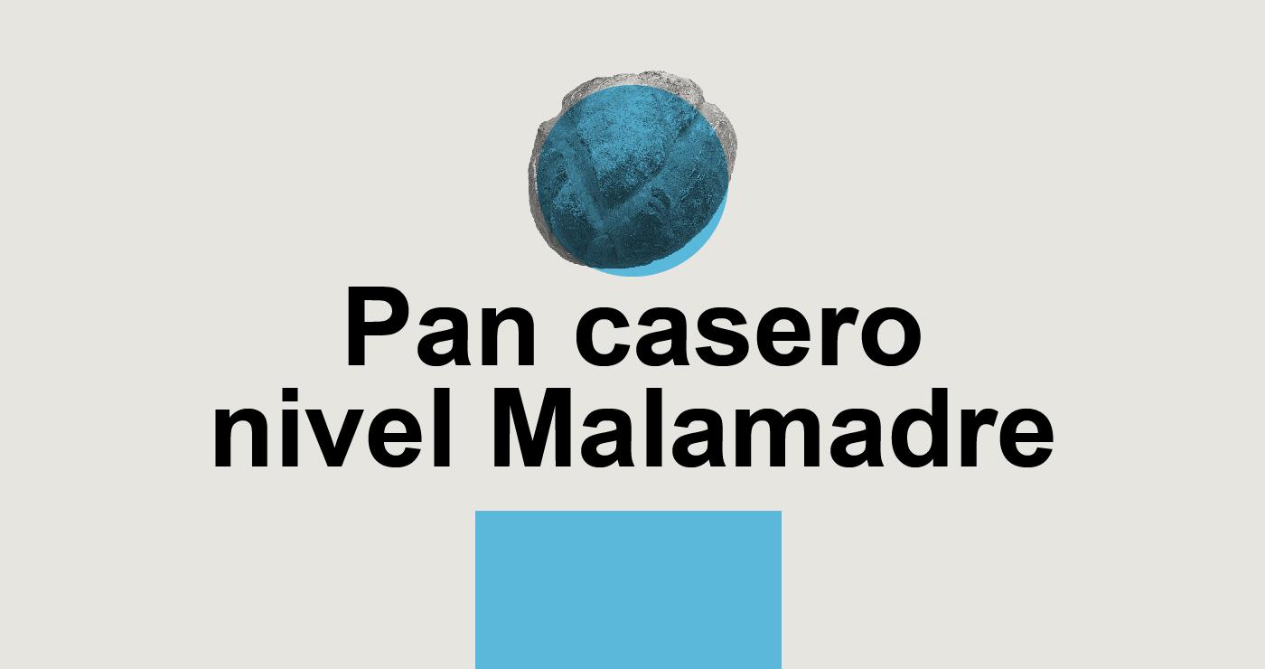 Pan casero nivel Malamadre