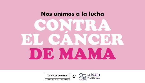 Malamadre Power, la camiseta solidaria contra el cáncer de mama