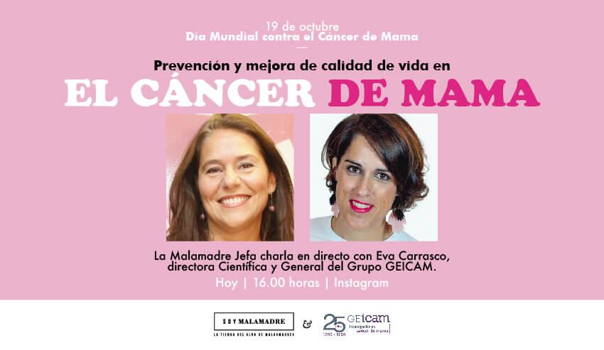 Convocatoria directo Prevención del Cáncer de mama