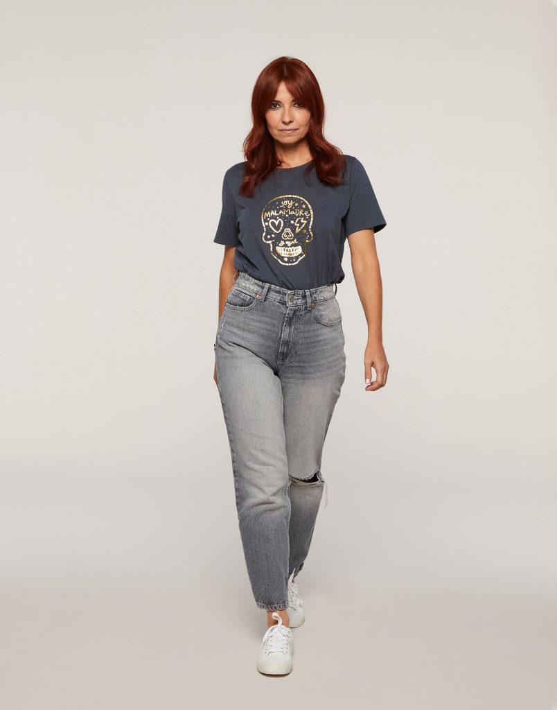 Camiseta calavera Malamadre