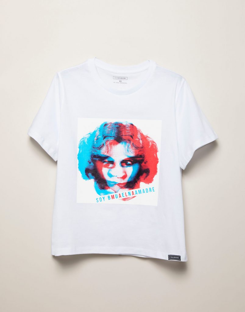 Camiseta cara Malamadre