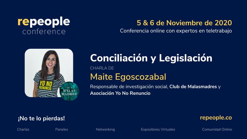 Conciliación y Legislación por Maite Egoscozabal.