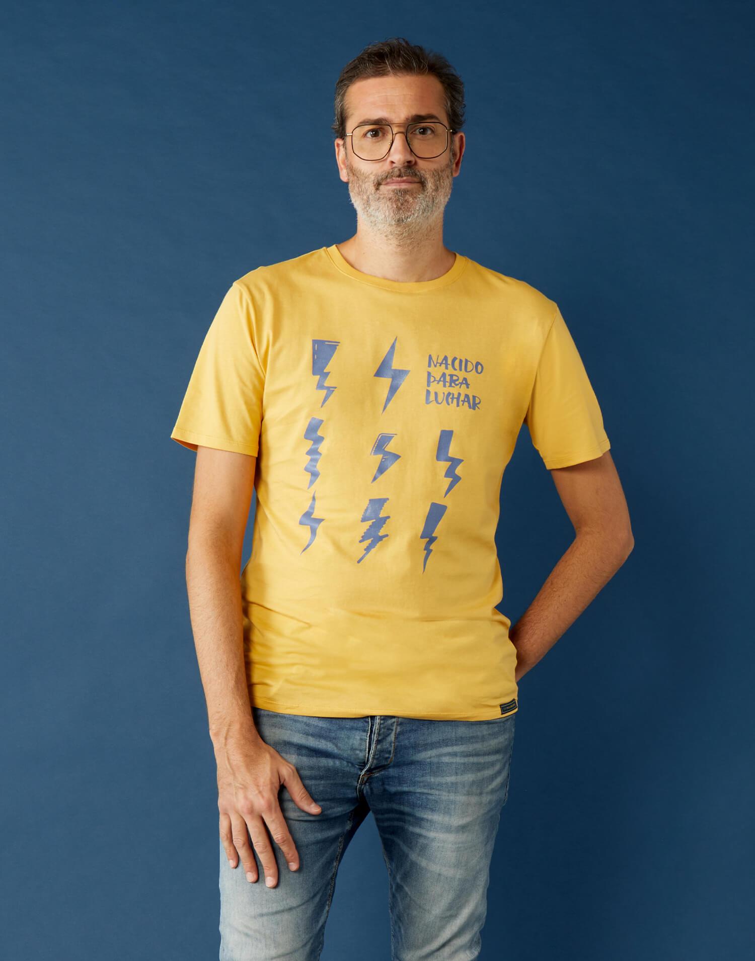 Camiseta buenpadre 'Nacido Para Luchar'