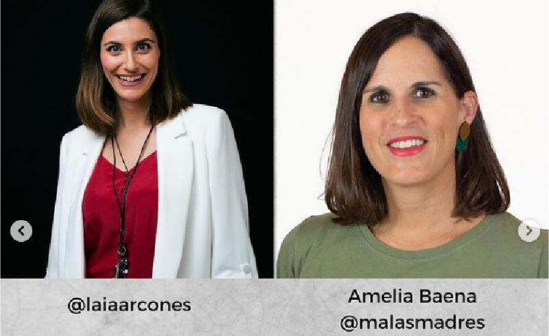 Directos para empoderar con Laia Arcones y Amelia Baena