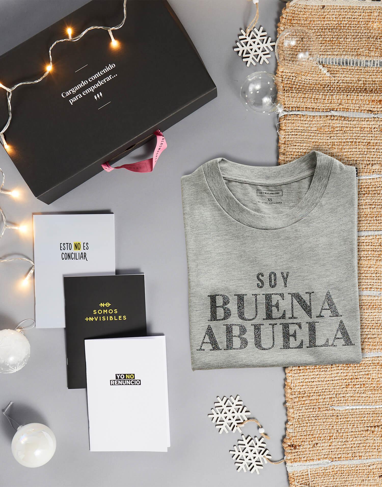 Kit Camiseta + Libretas para buenasabuelas