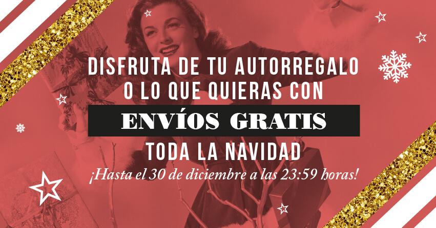 Envíos gratis diciembre