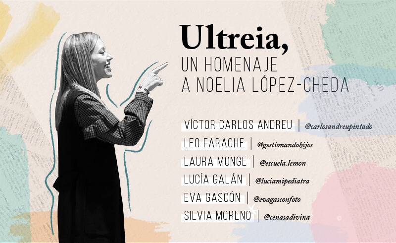 'Ultreia', un homenajea a Noelia López-Cheda