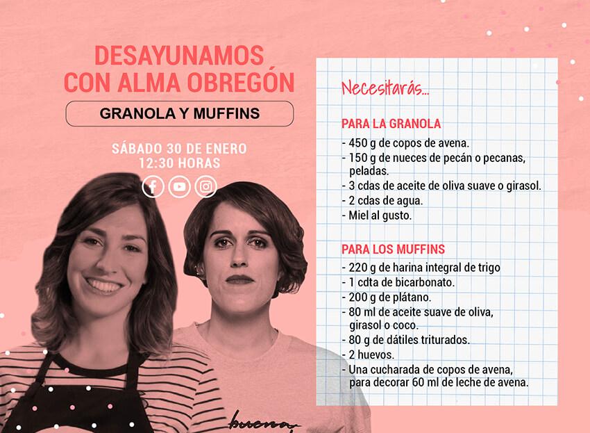 Desayuno con Alma Obregón