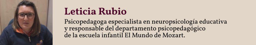 Ficha de Leticia Rubio