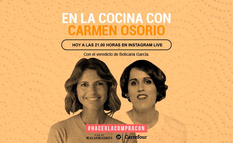 En la cocina de Carmen Osorio