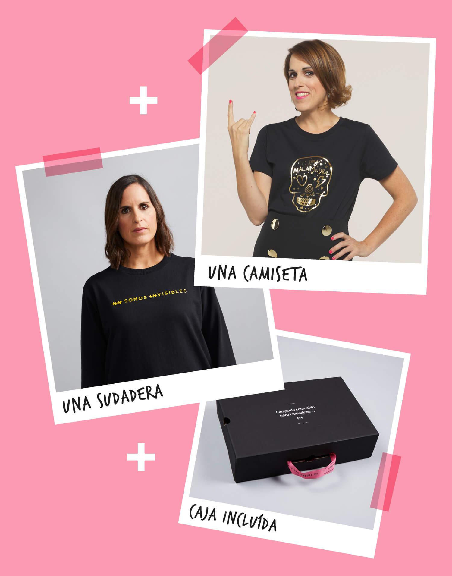 Kit camiseta+sudadera para Malamadrear