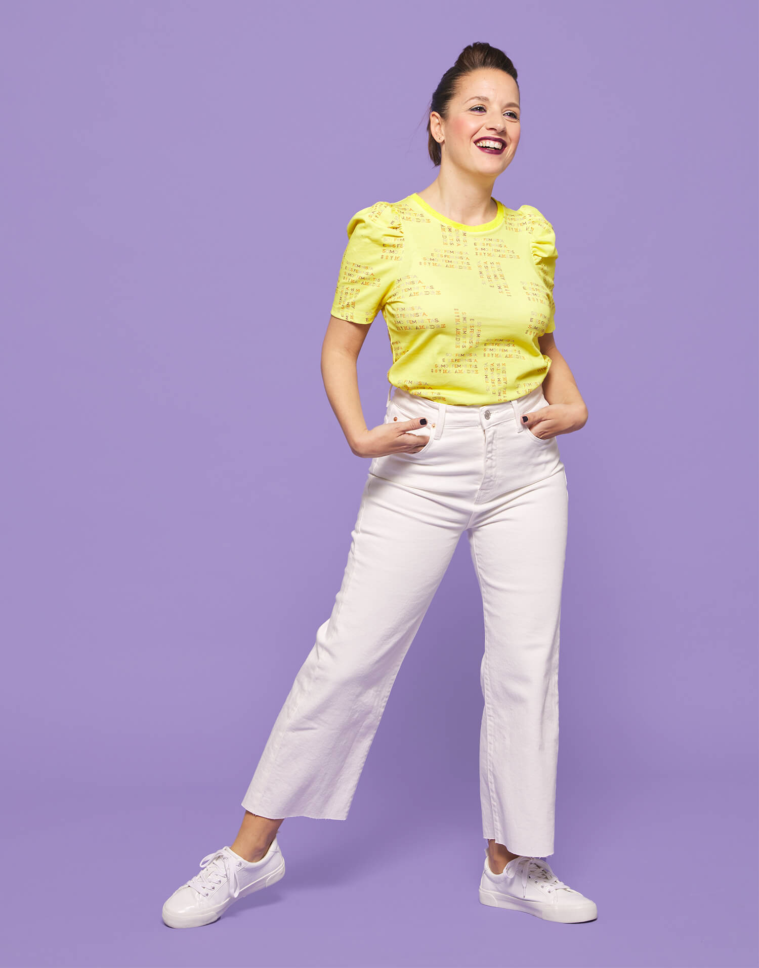 Camiseta amarilla 'Somos Feministas'