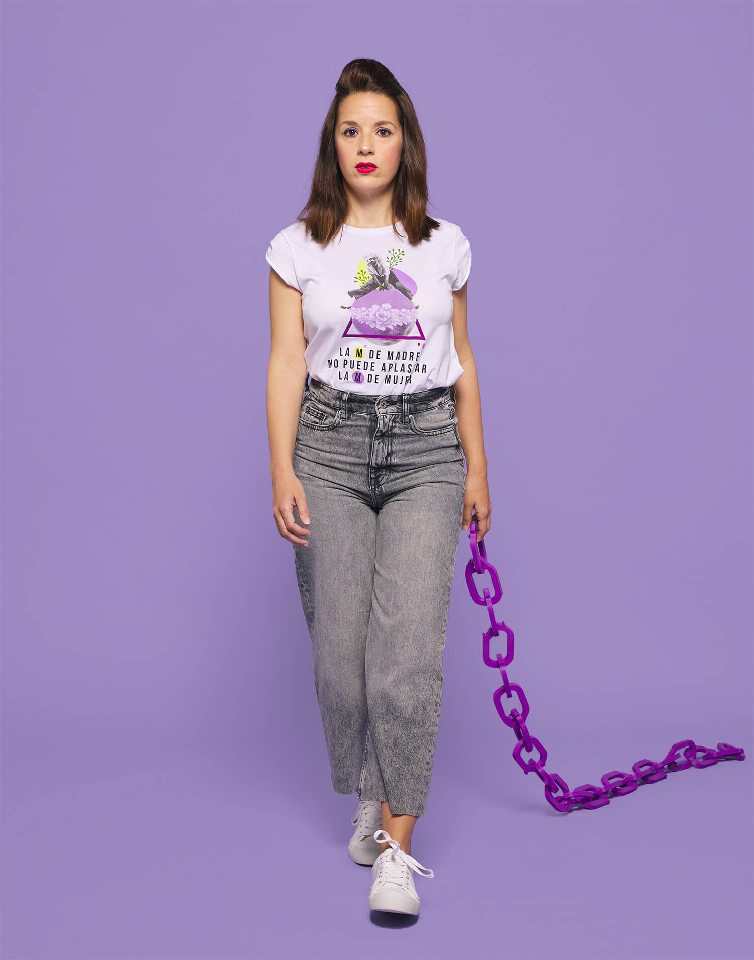 Camiseta 'M de Madre y M de Mujer'
