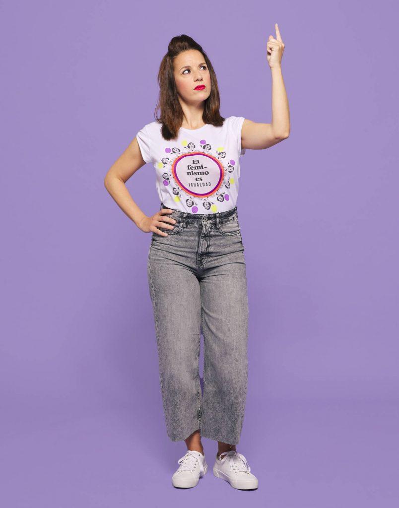 Camiseta 'El feminismo es igualdad'
