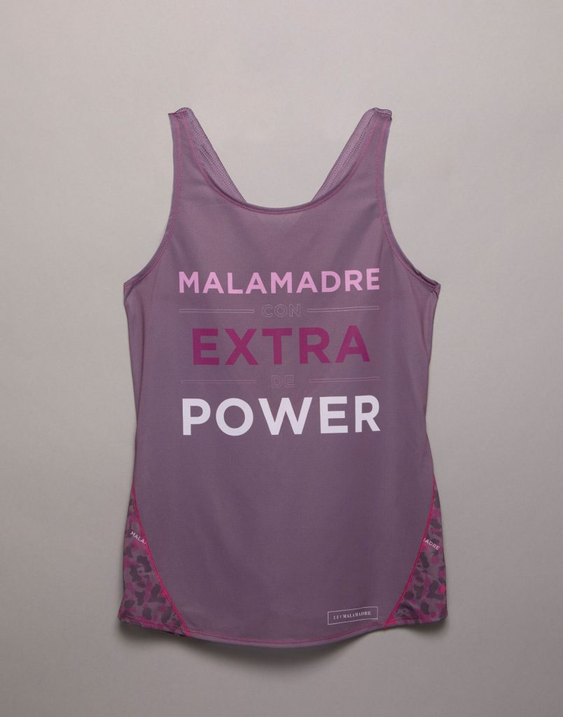 Camiseta tirantes 'Malamadre Power'