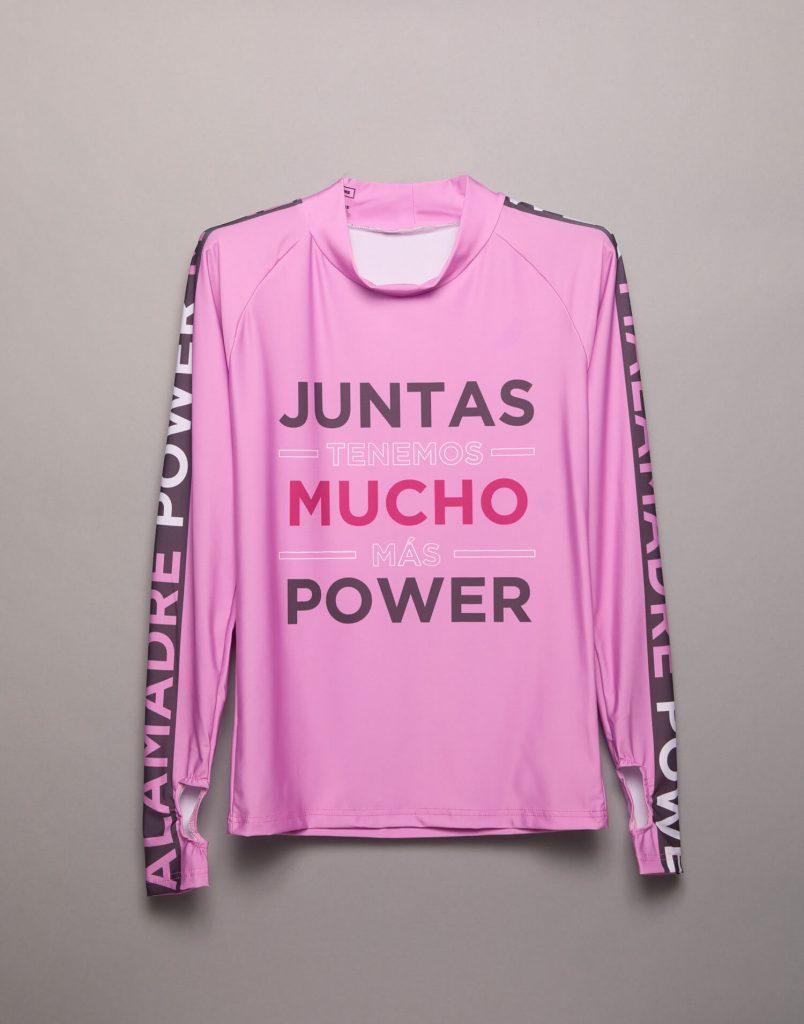 Camiseta mangas largas 'Malamadre Power'