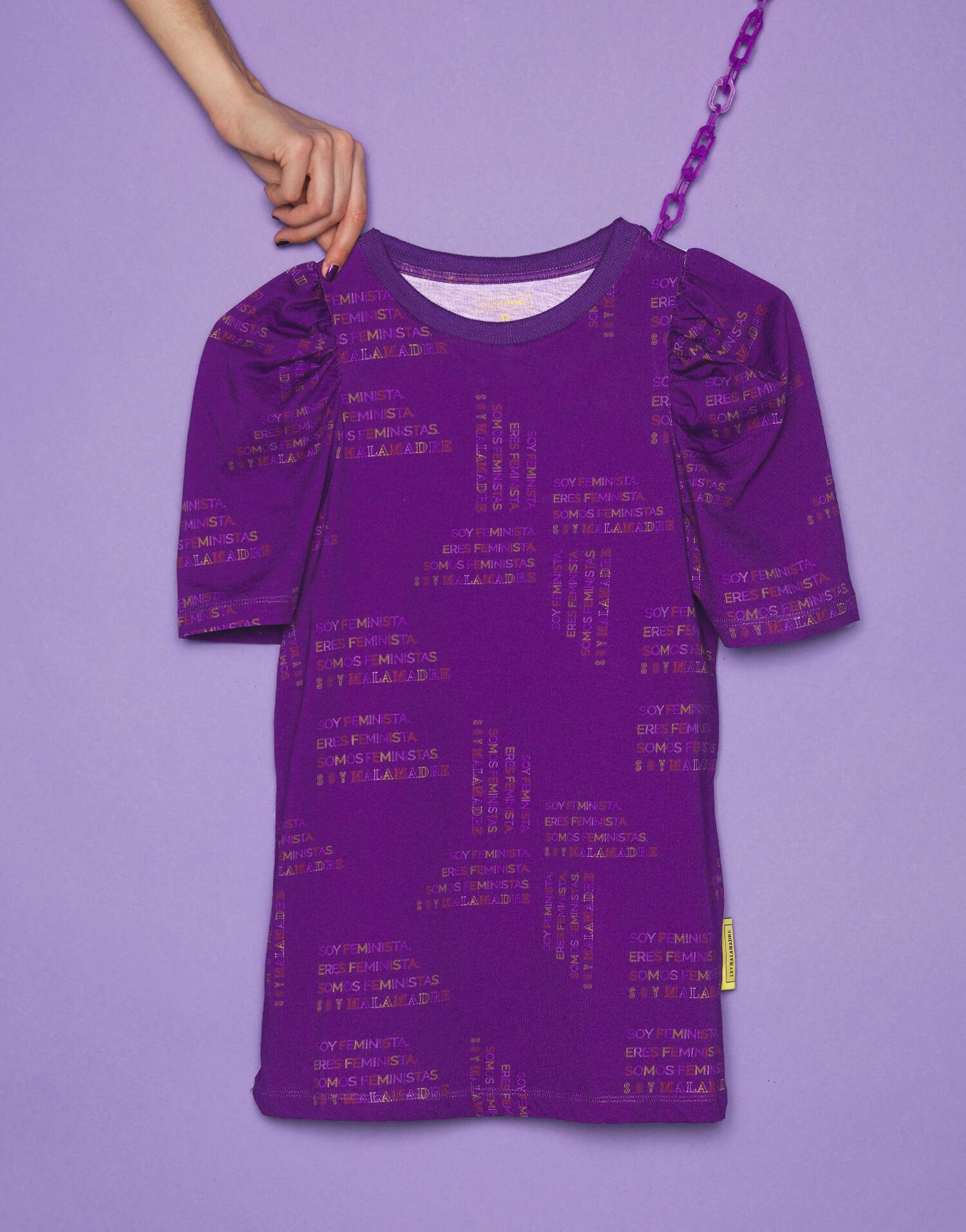 Camiseta morada 'Soy Feminista'