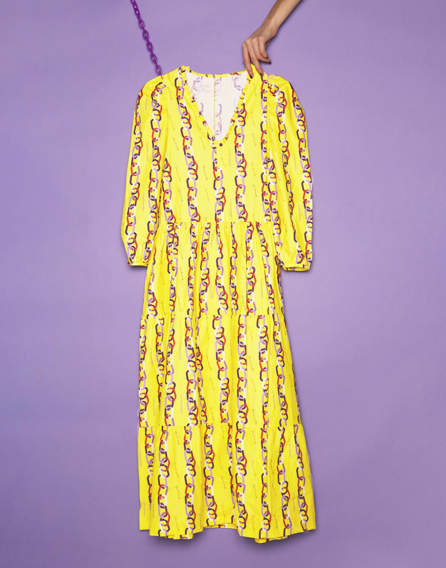 Vestido cuello de pico 'Soy feminista'